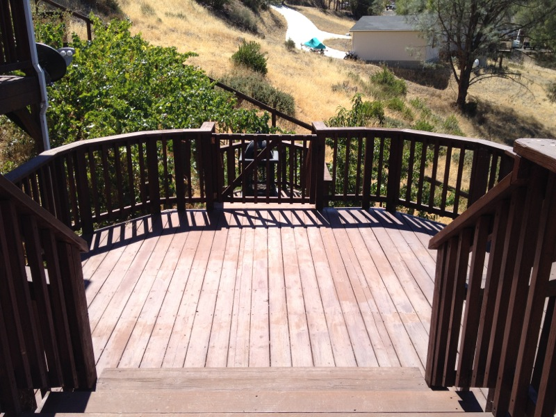 2571 Wagon Wheel Dr - Back Deck picture