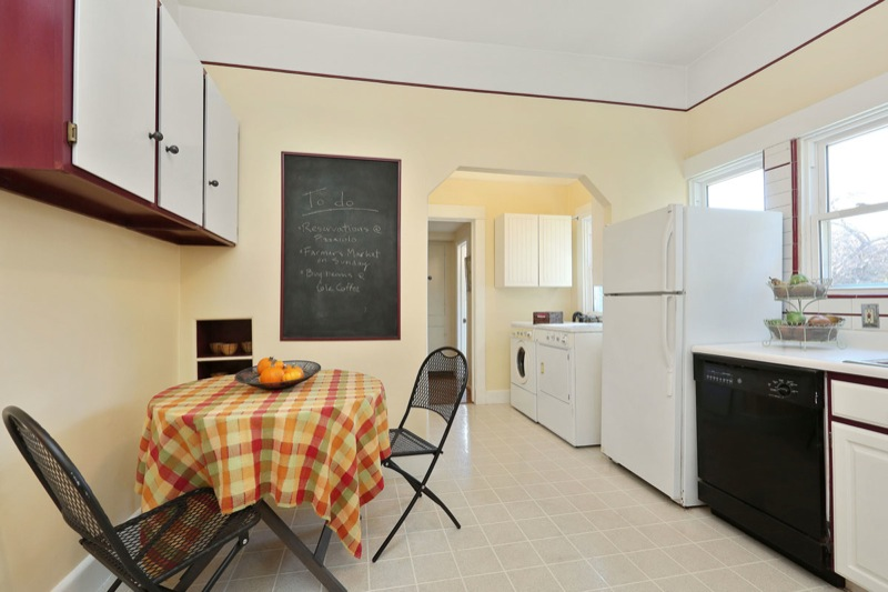 477 59th - Kitchen with laundry picture