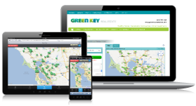 Green Key Home Search screen images