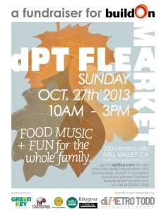 The diPietro Todd Flea Market fundraiser 2013 flyer picture