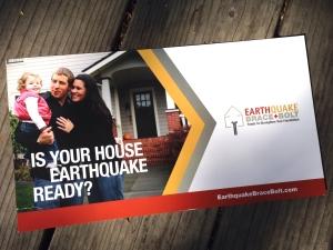 Earthquake Brace+Bolt flyer picture