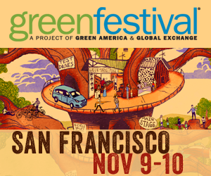 Green Festival San Francisco Nov 9-10 banner picture