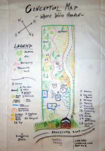 Laytonville EcoVillage conceptual map picture