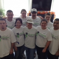 Our Green Key Rebuilding Together team