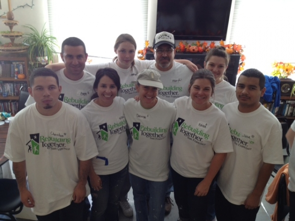 Our Green Key Rebuilding Together team